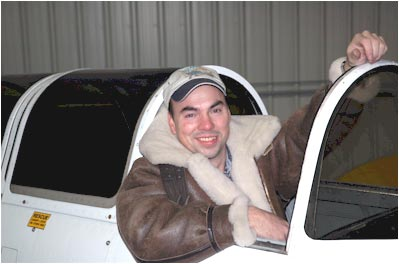Patrick Cloutier, Chief Pilot